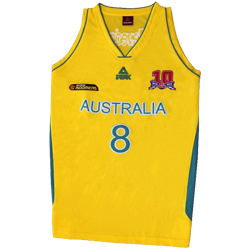 Team Australia Basketball Singlets