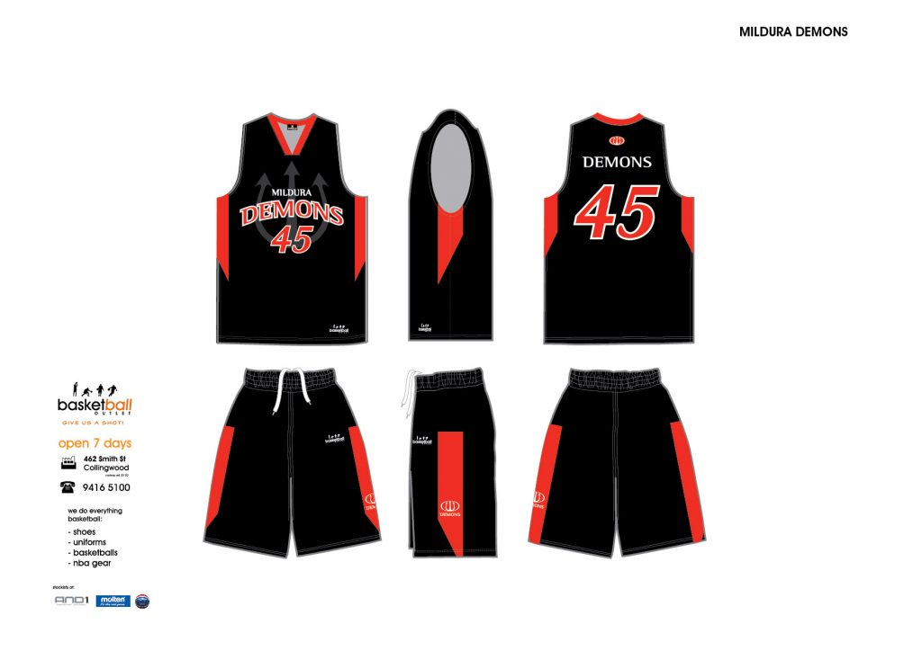 Mildura Demons Black 2012-01